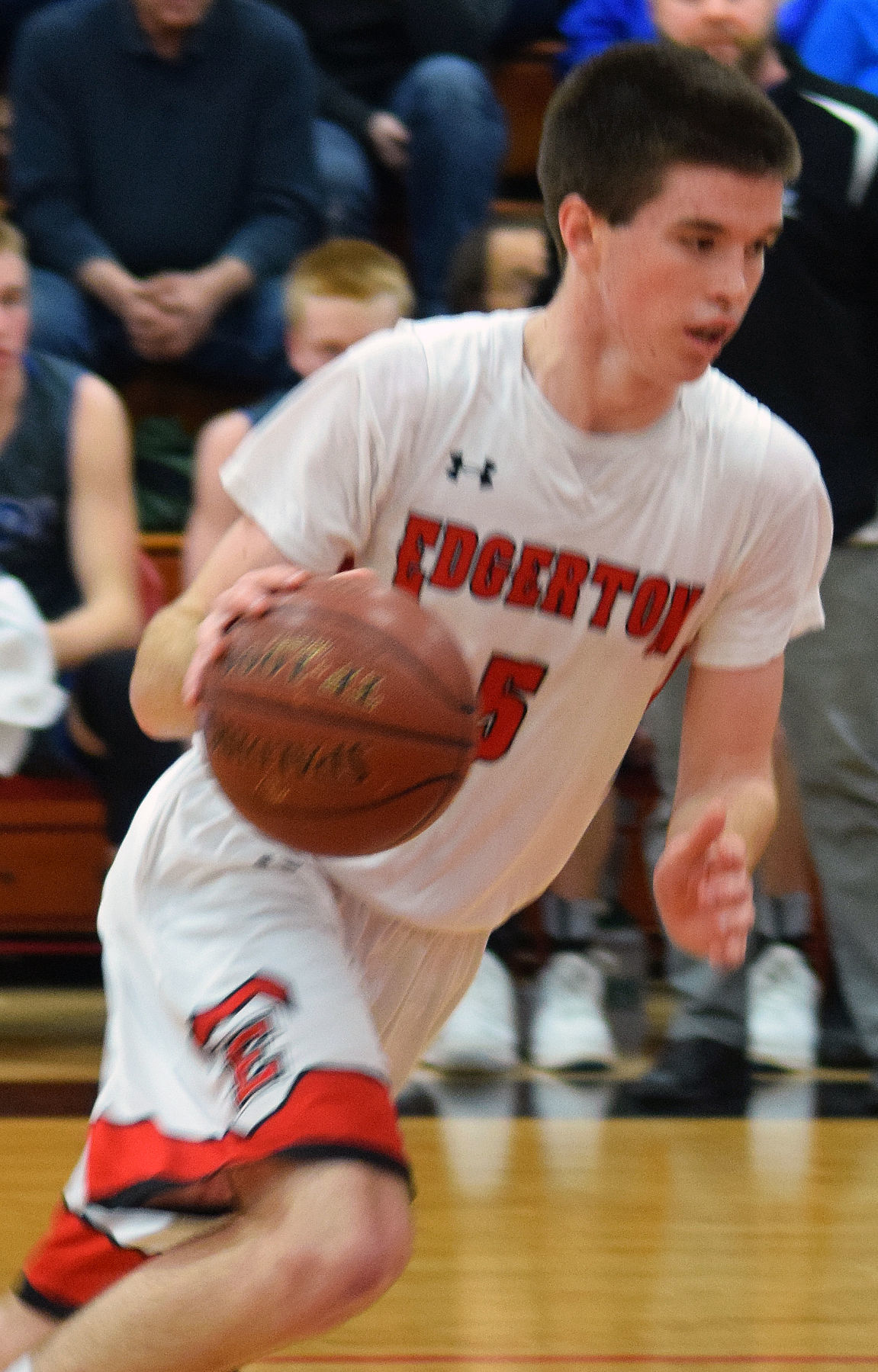 Prep boys basketball photo: Edgerton's Jason Fox
