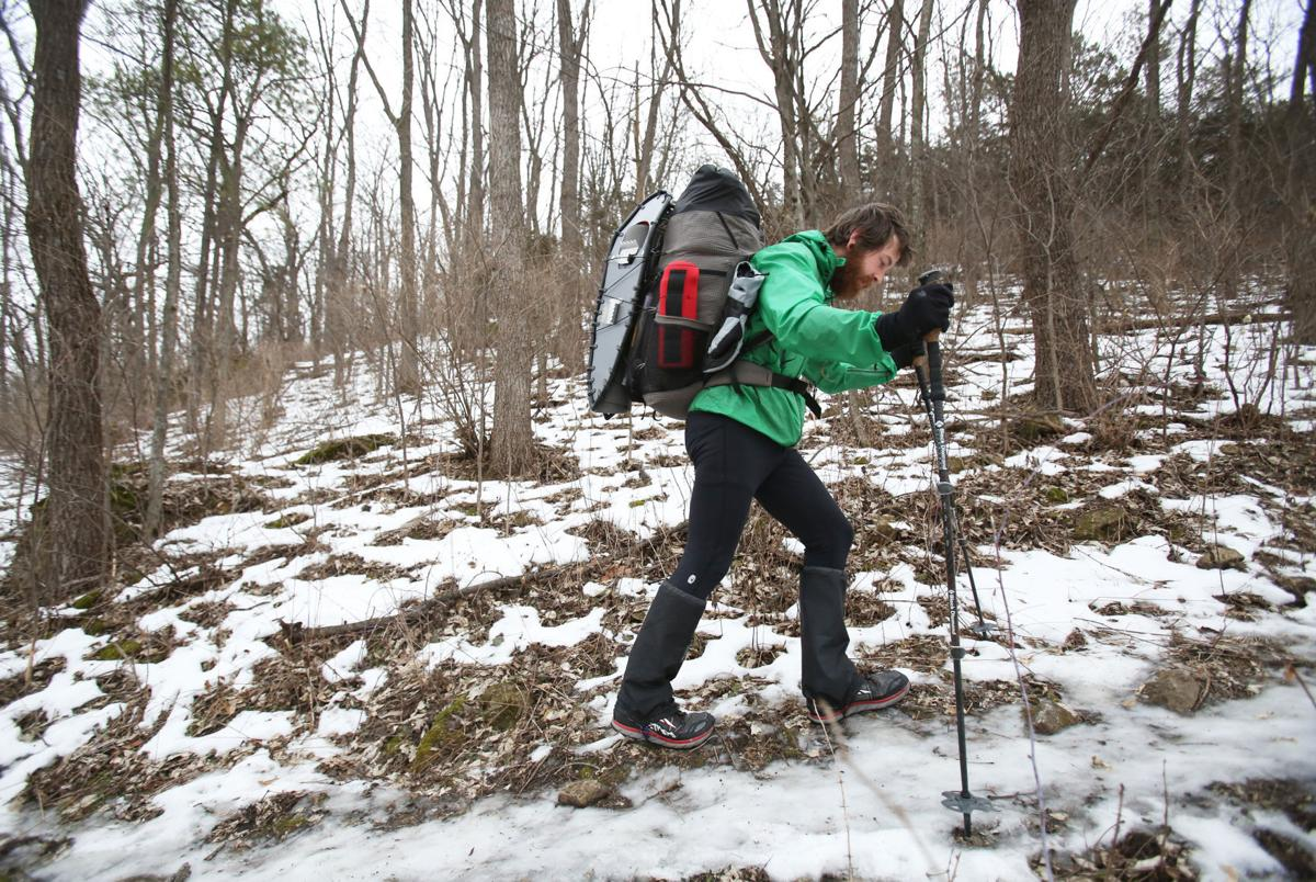 Mike Summers thru-hikes the Ice Age National Scenic Trail