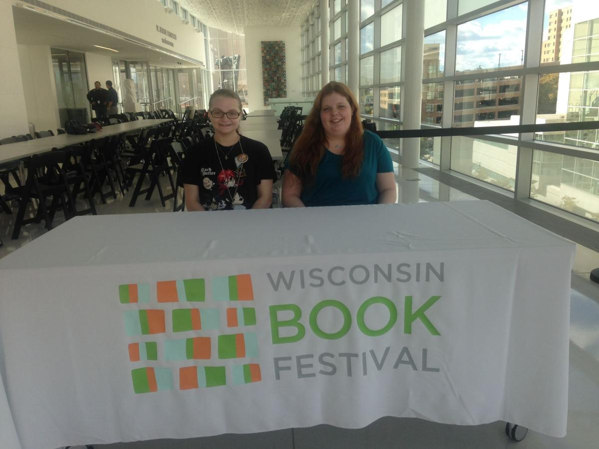 Madison Students at Book Festival