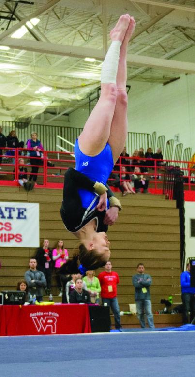 wiaa state gymnastics meet 2014