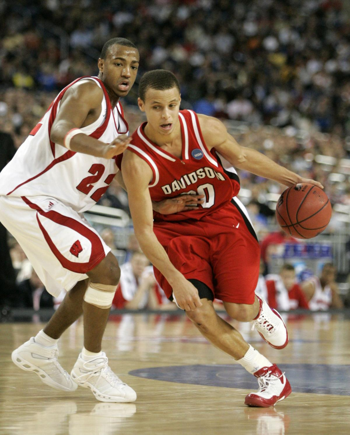 2008: Steph Curry, Davidson take down Badgers in Sweet 16     host.madison.com