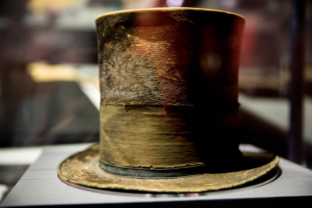 Lincoln's top hat from night of his assassination