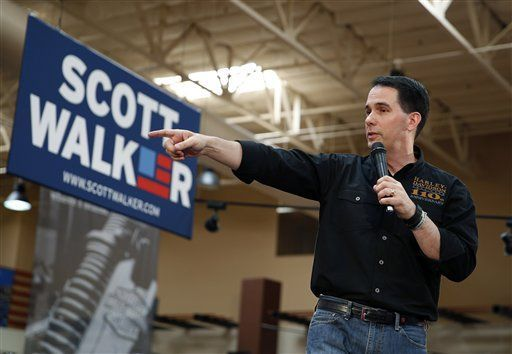 Wisconsin Gov. Scott Walker kicks off Nevada campaign (copy)