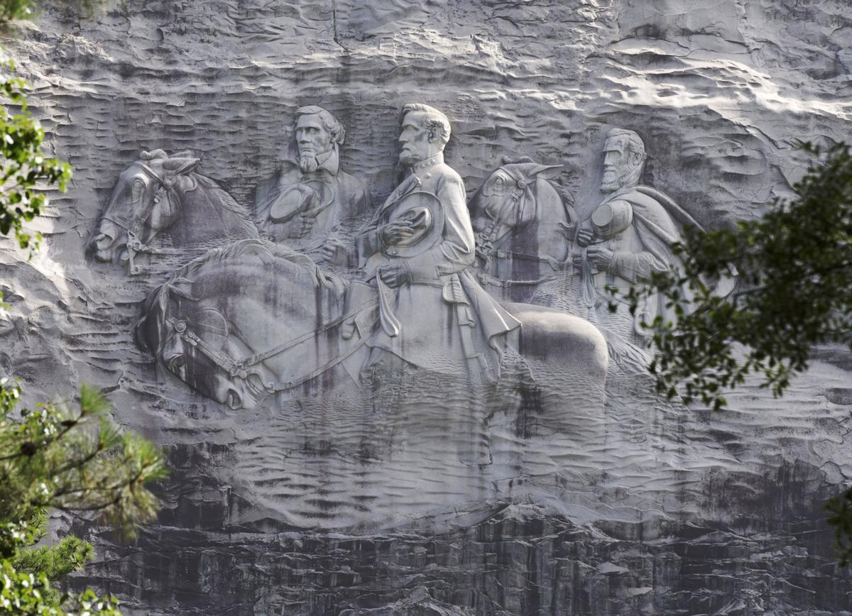 Confederate Monuments Stone Mountain for Fanlund column