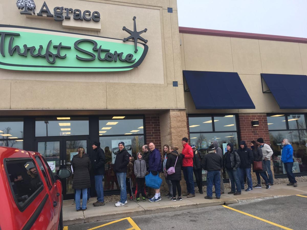 Agrace record sale