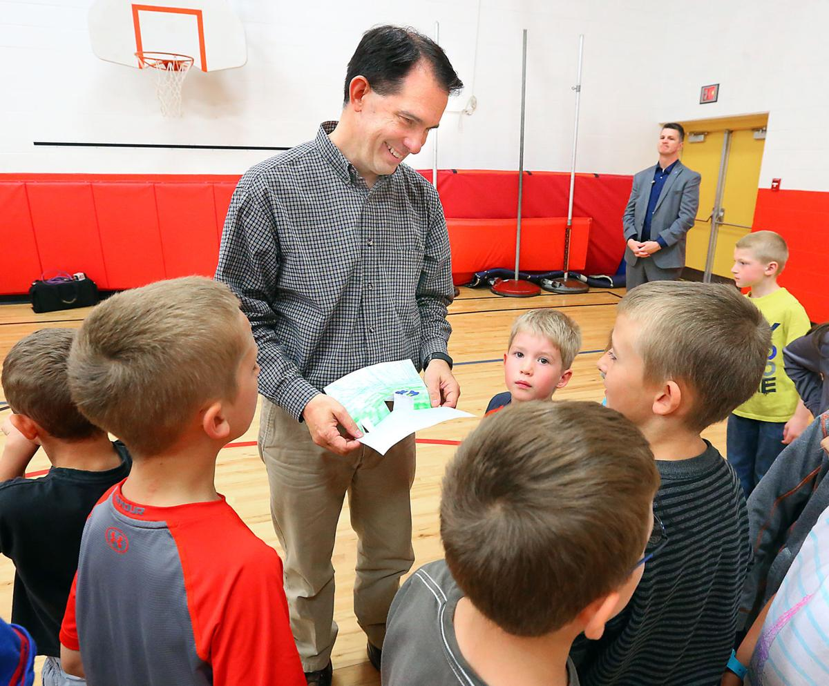 Scott Walker at Galesville - Fanlund column