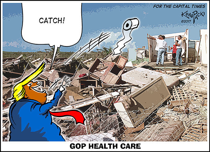 Editorial cartoon (10/11/2017)