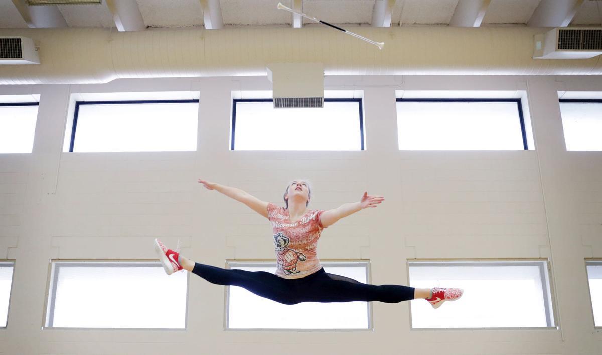 Tara Harris jump
