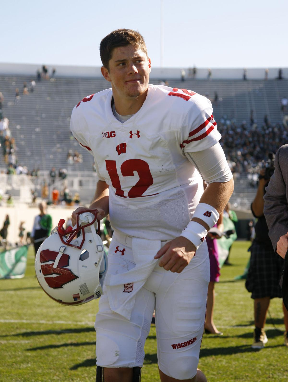 Badgers football: Alex Hornibrook 'calm and collected' in first start | College Football | host ...