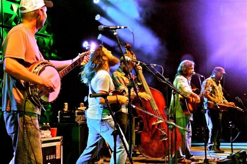 Greensky Bluegrass deliver a pounding live performance.