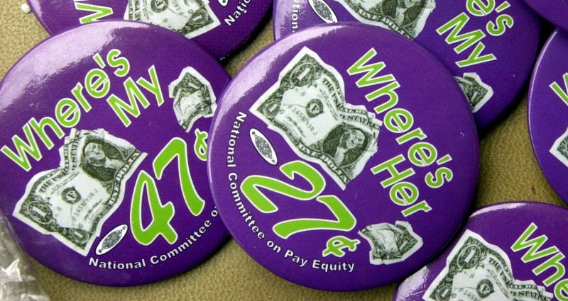 Equal pay buttons