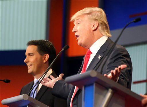 Scott Walker and Donald trump