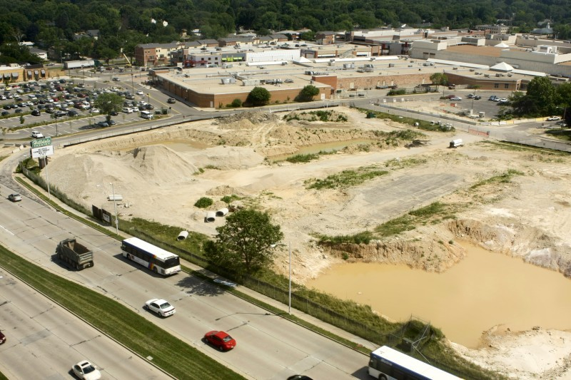 Hilldale Target hole in ground