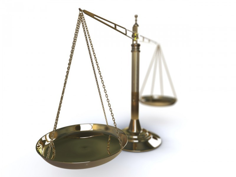 Scales of justice for CT tort reform story