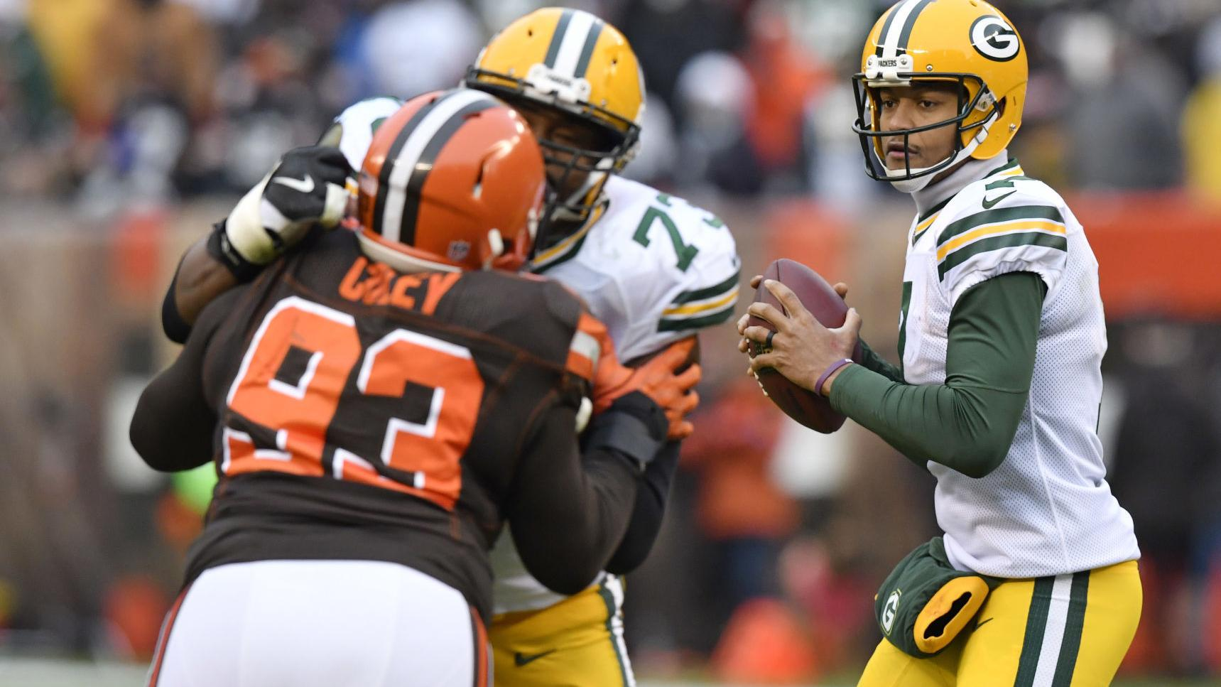 Brett Hundley returns to the bench knowing he did his part