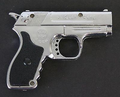 Lookalike 'lighter-laser' gun confiscated in arrest