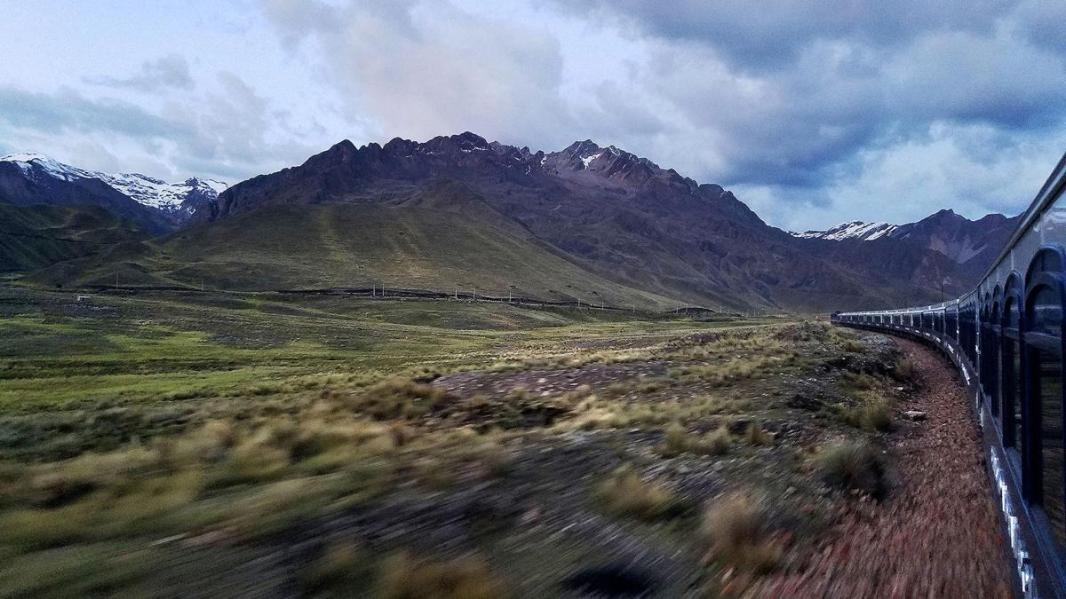 Cruising through La Raya Pass
