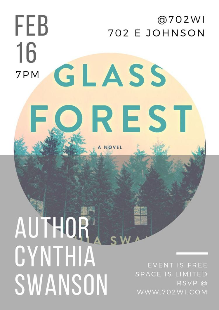 Author Reading & Book Signing: Cynthia Swanson 702WI