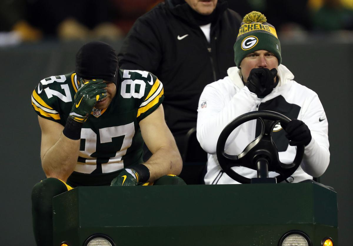 Packers Green Bay wide receiver Jordy Nelson ruled out for
