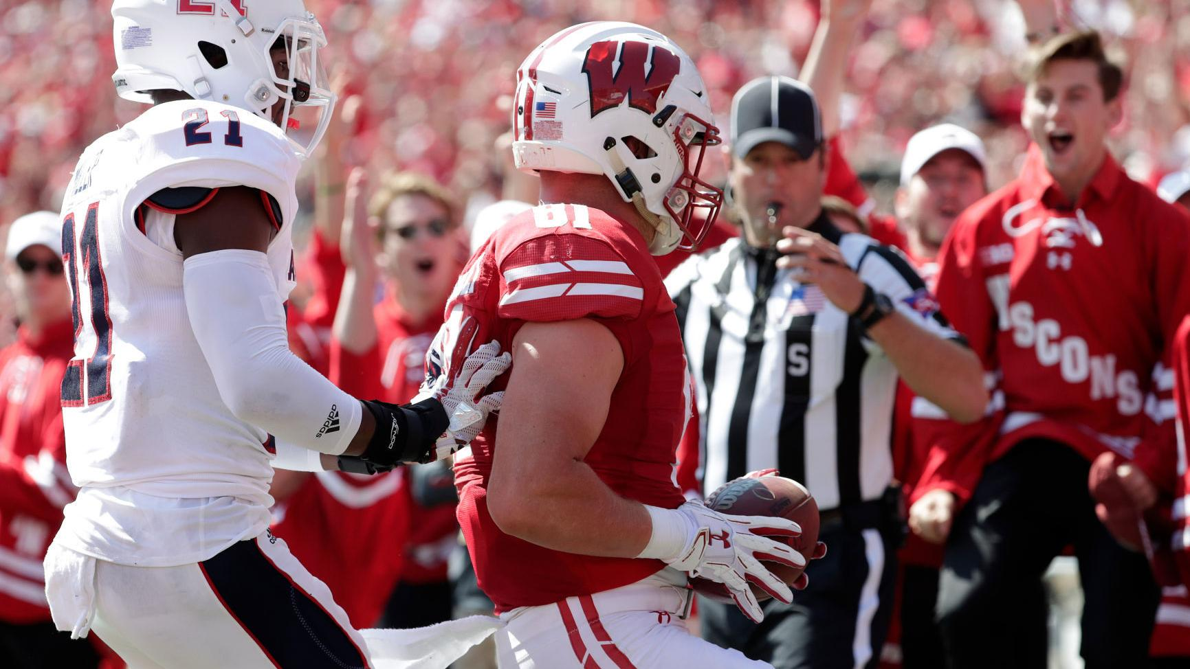 Badgers football notebook: Tight end Troy Fumagalli questionable for Wisconsin's game at Nebraska