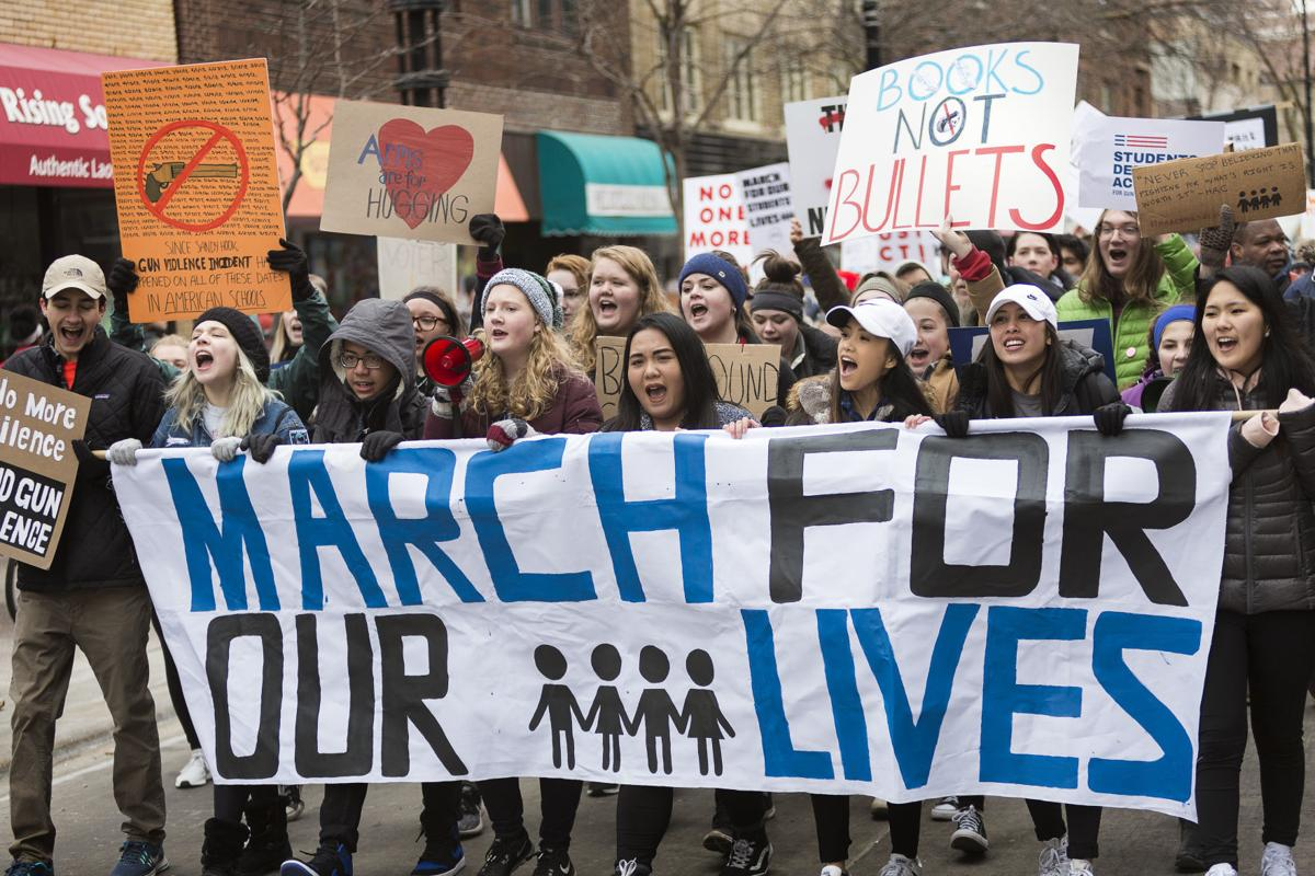 Enough Is Enough Madison Student Activists Stage March