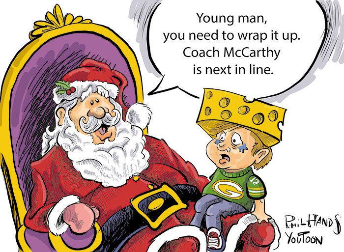 Winning Santa You Toon