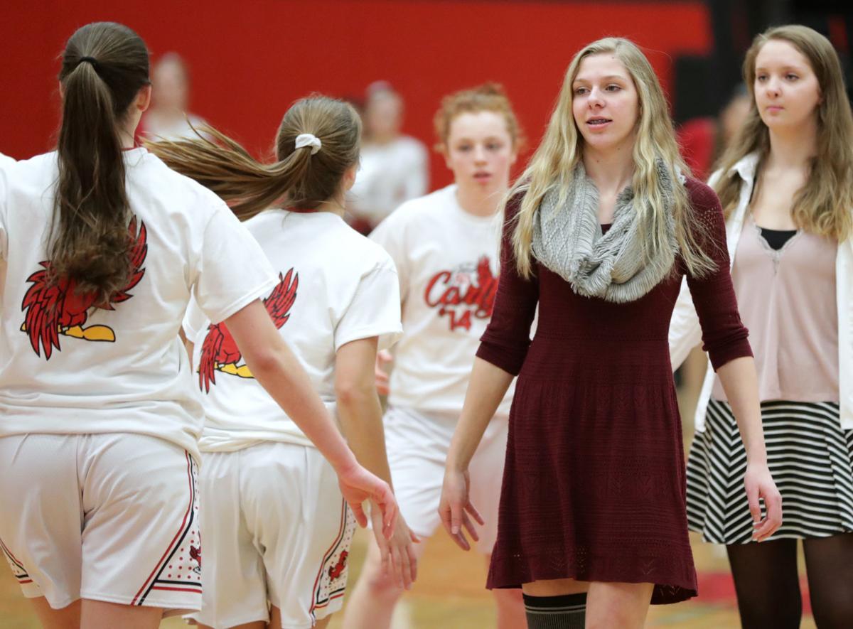 Prep girls basketball photo: Sun Prairie's Carly Coulthart