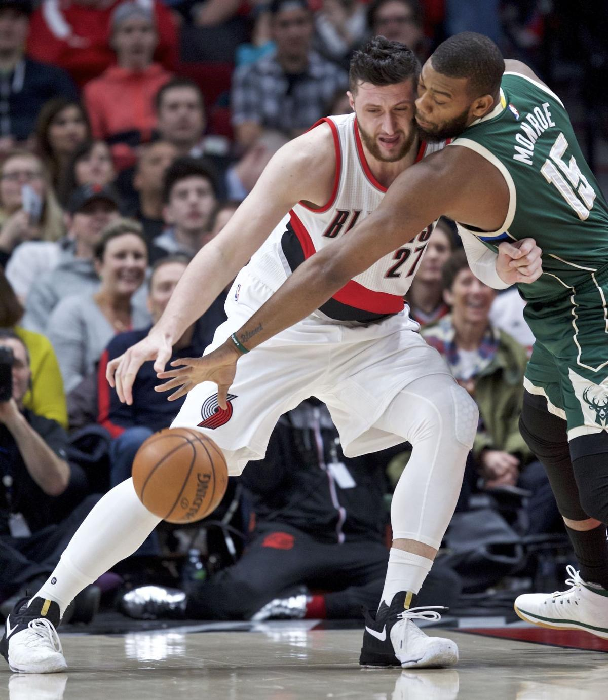 Portland Blazers Tonight: Bucks: Win Over Portland Pushes Milwaukee Back To .500