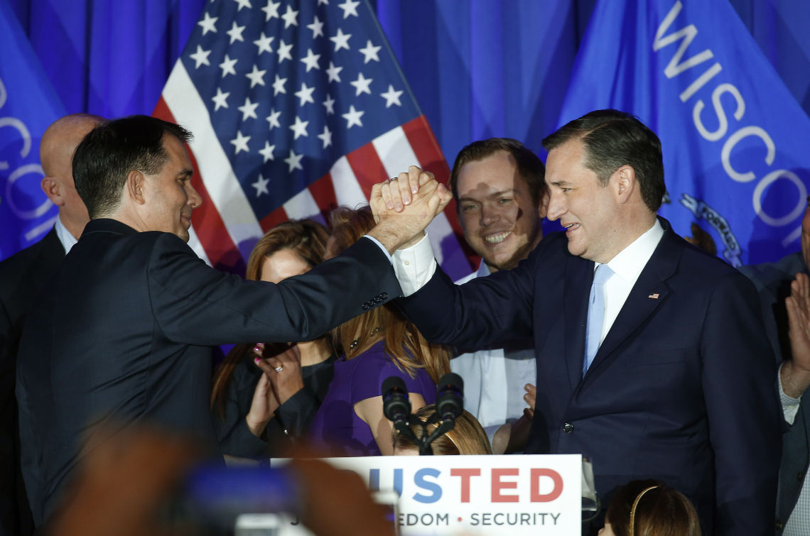 Photos: Ted Cruz makes case to be Republican nominee after ...