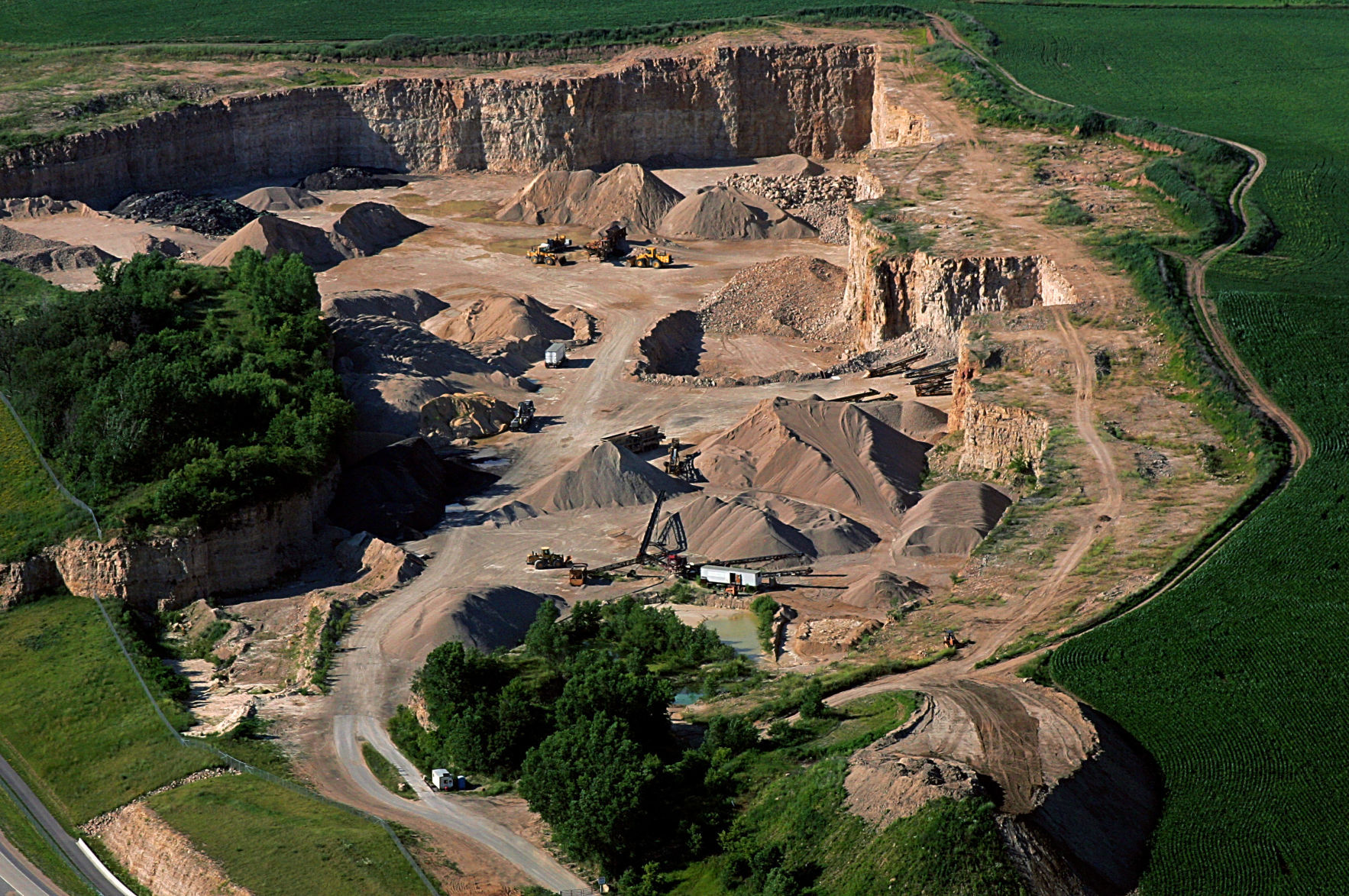 Zoning Change Would Allow City To Regulate Quarries Politics And