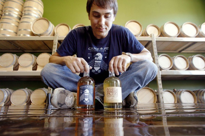 Old Sugar Distillery owner Nathan Greenawalt