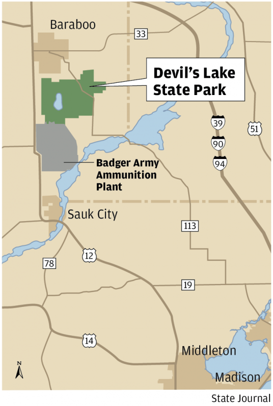 On wisconsin popular devil s lake state park celebrates for Open table 99 park