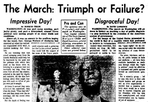Civil rights movement success read amp comment - 4 6