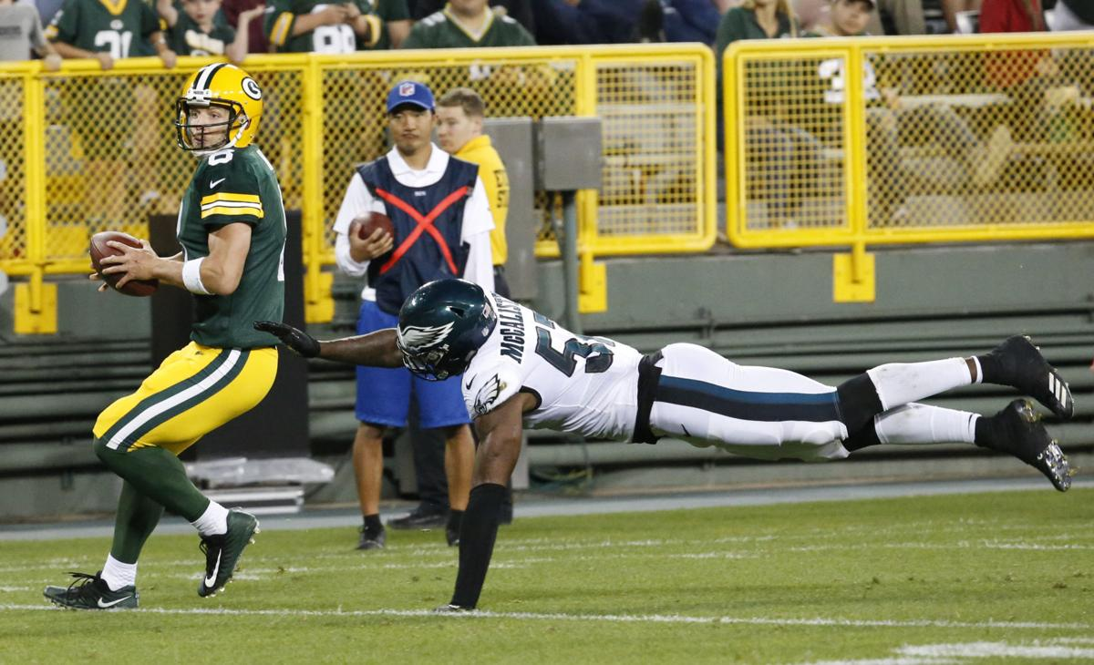 Taysom Hill Eagles Packers Football