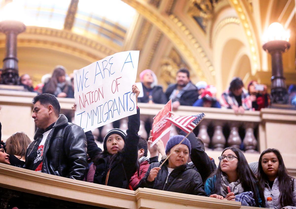 Latinos Rally