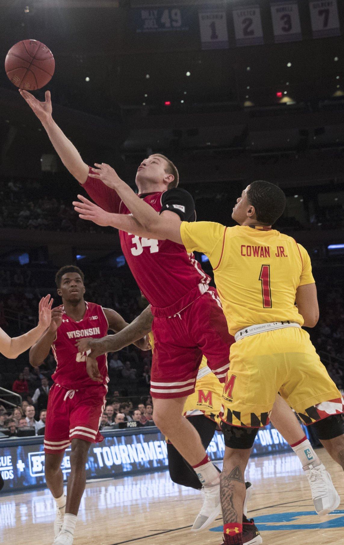 B10 Maryland Wisconsin Basketball