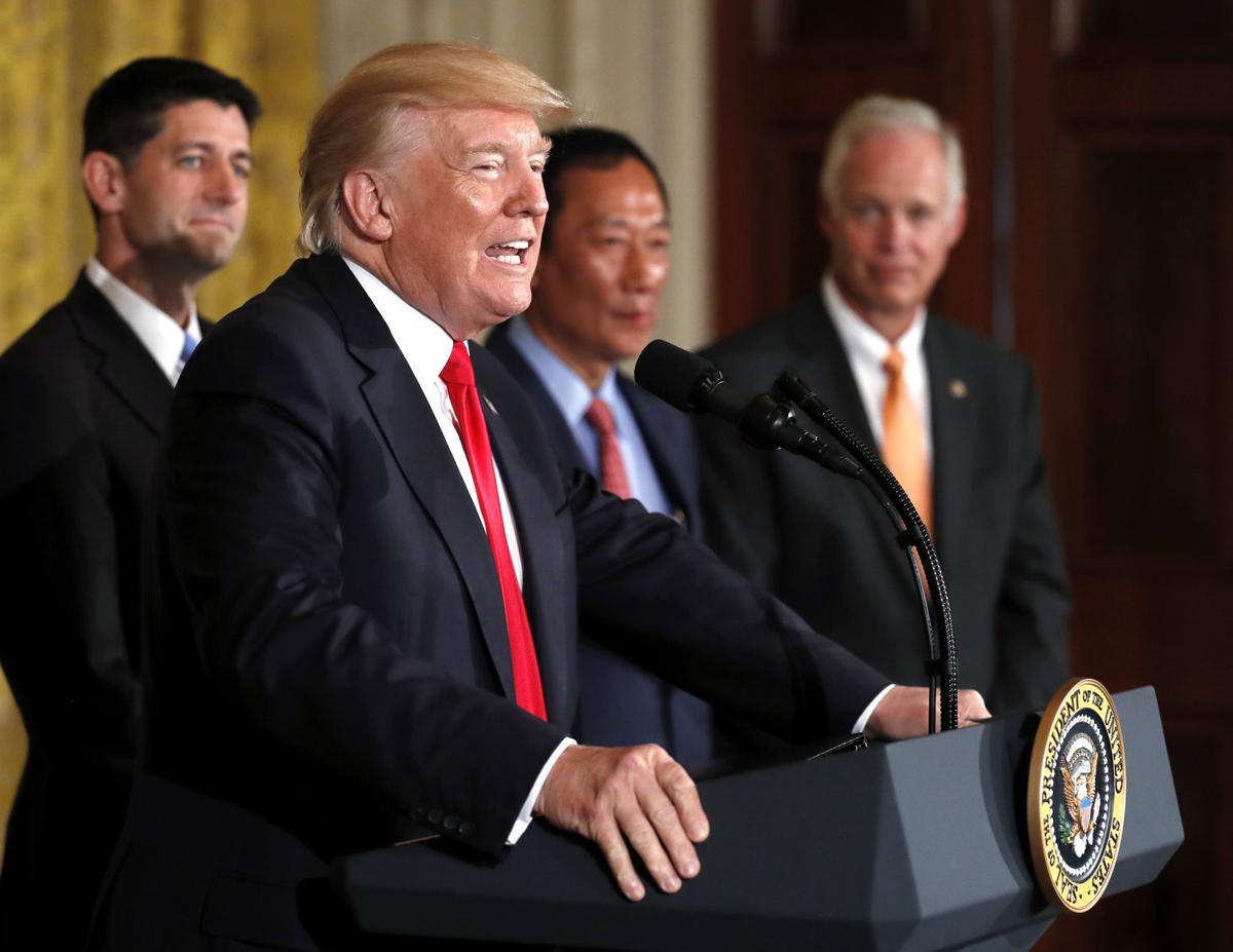 Trump Foxconn Plant