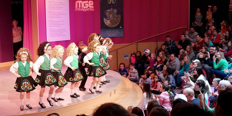 Trinity Irish Dance KIDS IN THE ROTUNDA