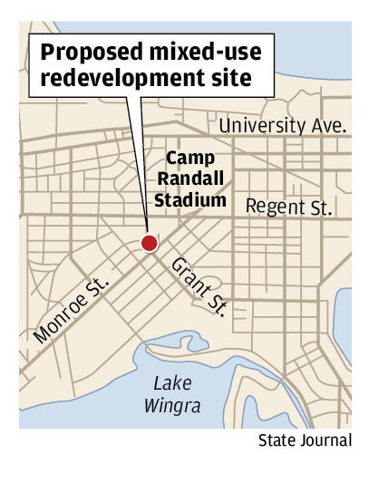 Proposed mixed-use redevelopment site
