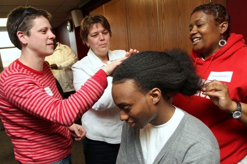 Sensational Hair Not Apparent White Foster Parents Of Black Children Learn Hairstyles For Men Maxibearus