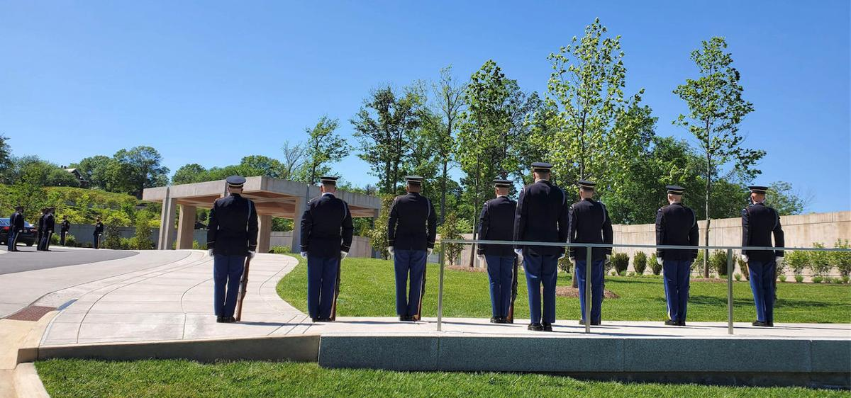 Military honors accorded