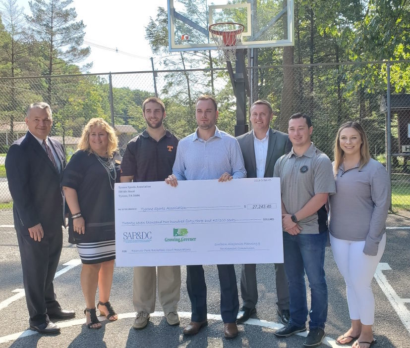 Tyrone Sports grant from SAP&DC