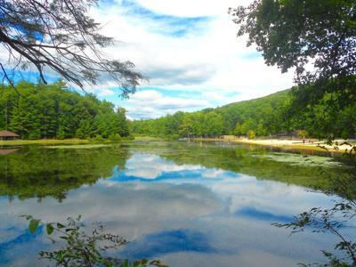 Lake at Whipple Dam State Park