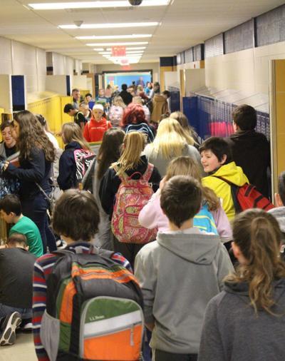 Hallways of SHCHS