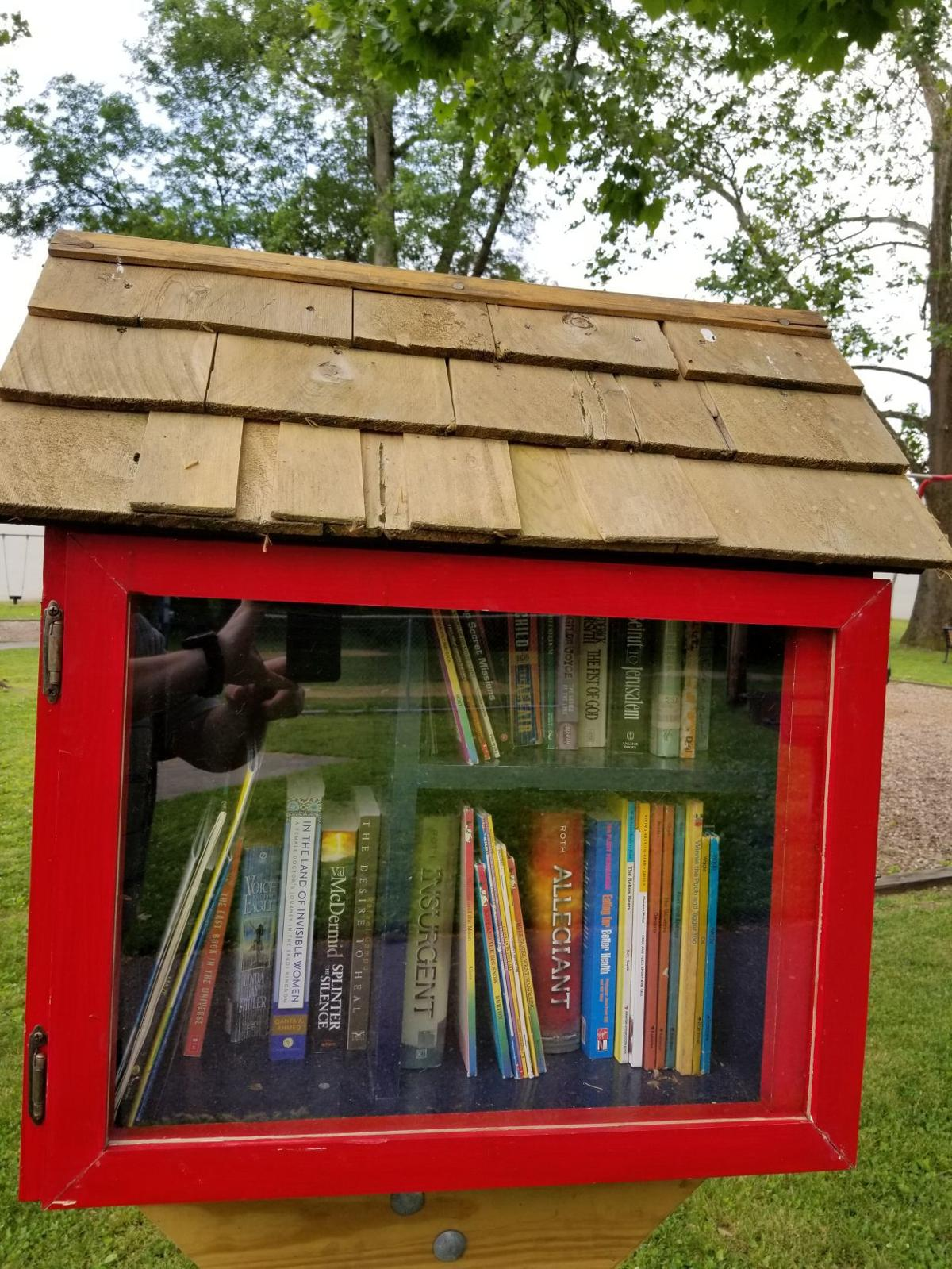 Little Free Library fixed