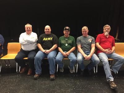 Veterans in assembly