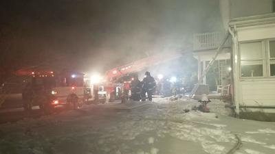 Dublin Township fire