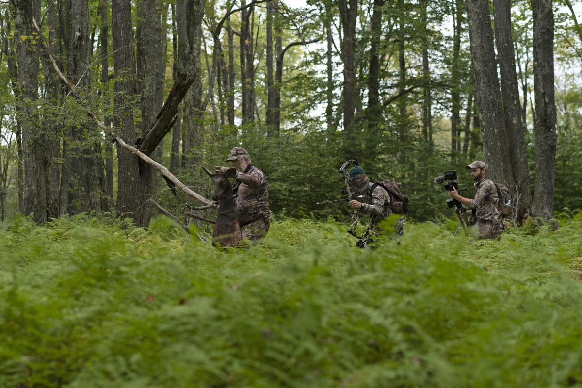 Hock filming elk hunt