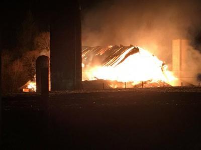 Crews respond to Franklin Twp. barn fire