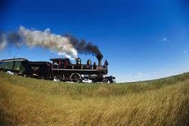 Steam engine locomotives